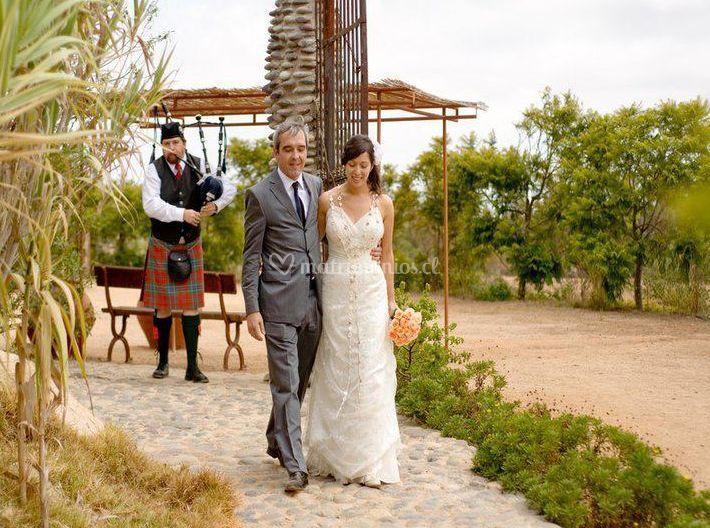 Matrimoios de Gaitero Escocés en Chile