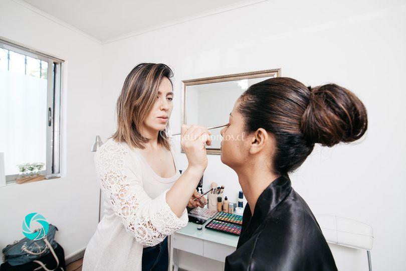 Maquillaje novia, dic. 2016