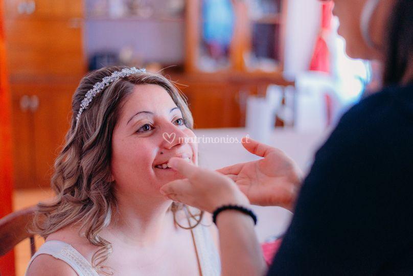 Maquillaje novia 2015