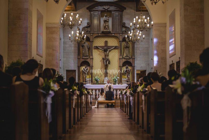 Ceremonia en capilla