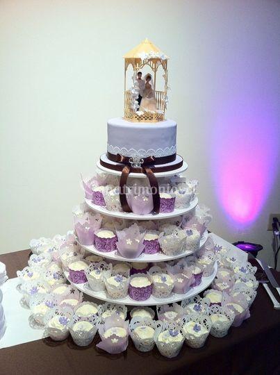Tortas de cupcakes