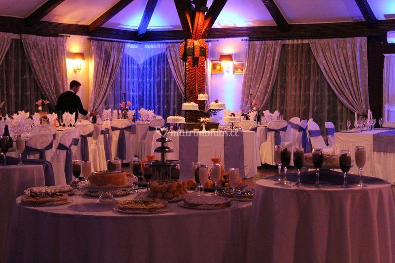 Salón comedor decoración