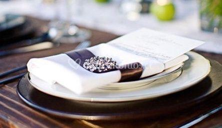 Menú en la mesa