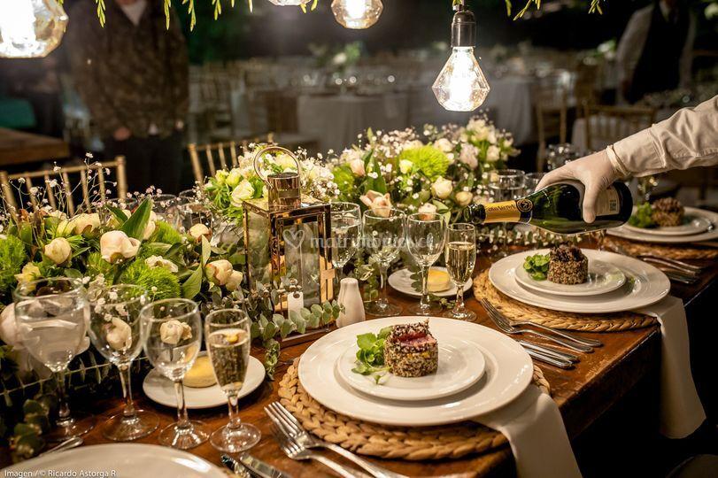 Banquetería y decoración