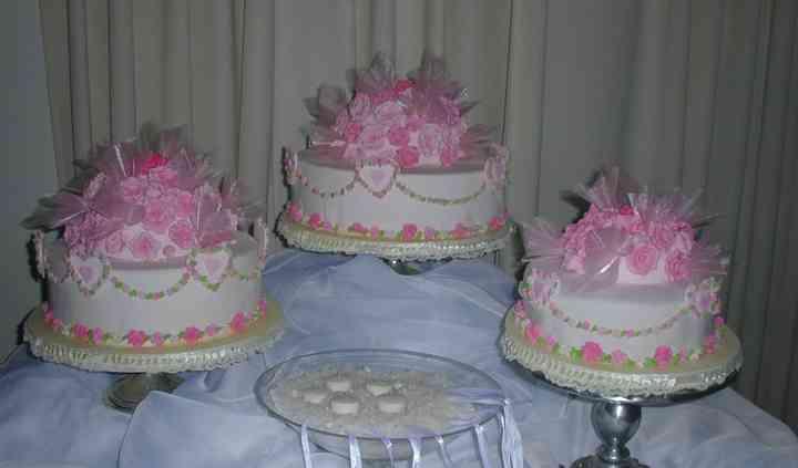 Tortas de matrimonio rosas