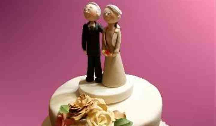 Tortas bodas de oro