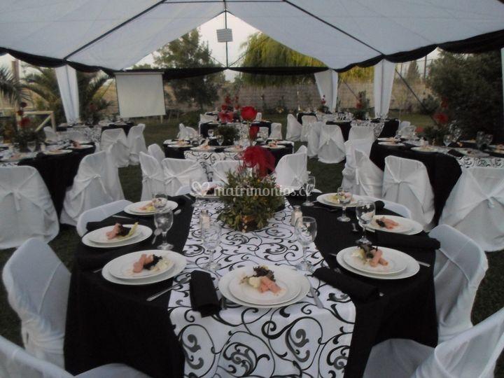 Matrimonio en blanco y negro