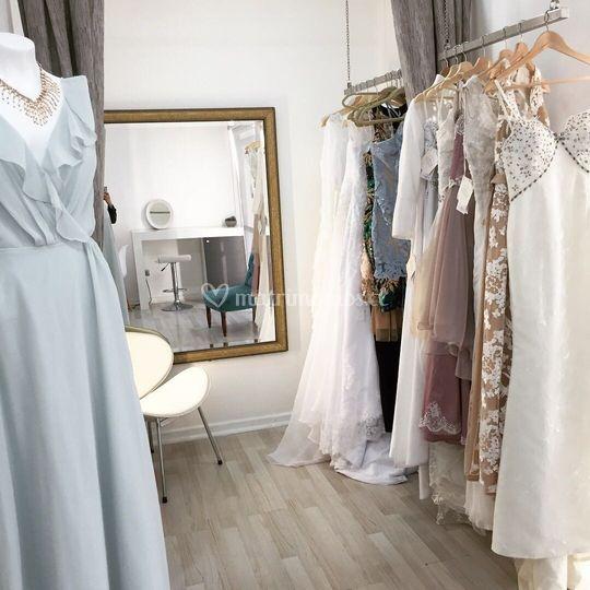 Vestidos de novia e invitadas
