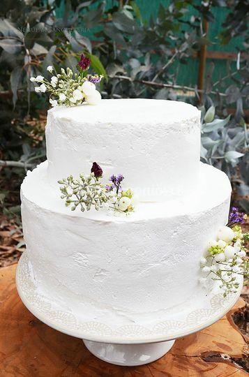 Excelente torta nupcial