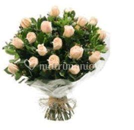 Ramo con rosas rosa