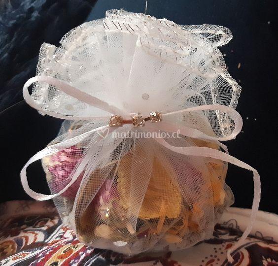 sacos aromaticos de flores sec