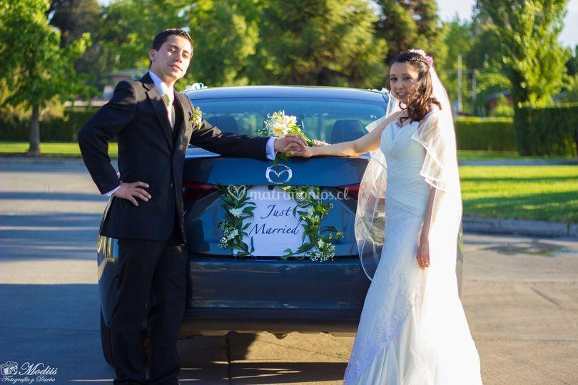 Matrimonio cristofer y camila