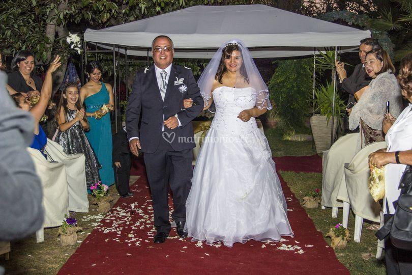 Matrimonio gustavo y rosa