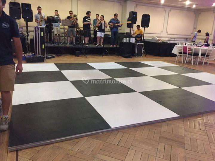 Pista de baile Casa 198