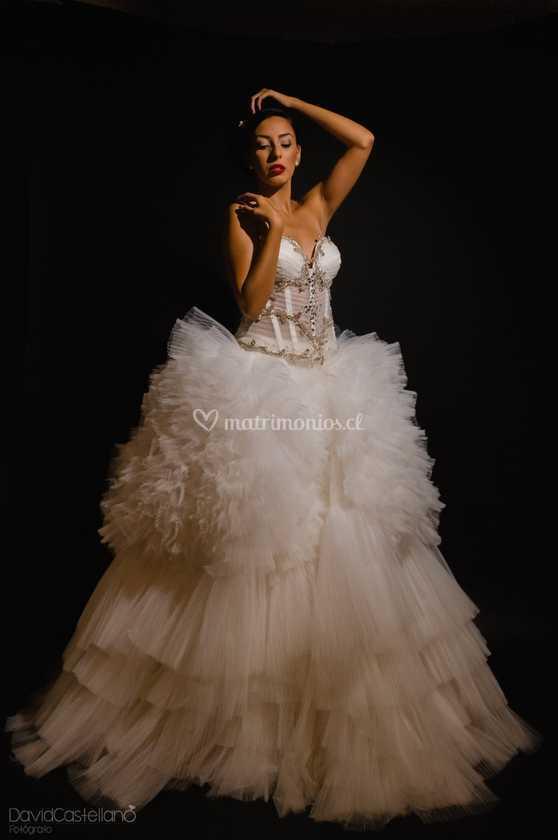 Vestido 2 Piezas De Zoe Novias Foto 1