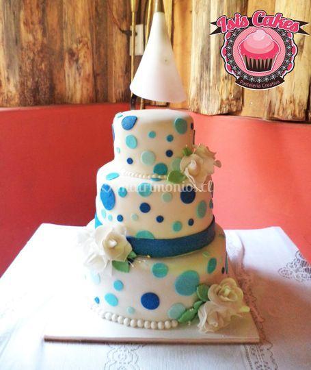 Torta de bodas 70 porciones