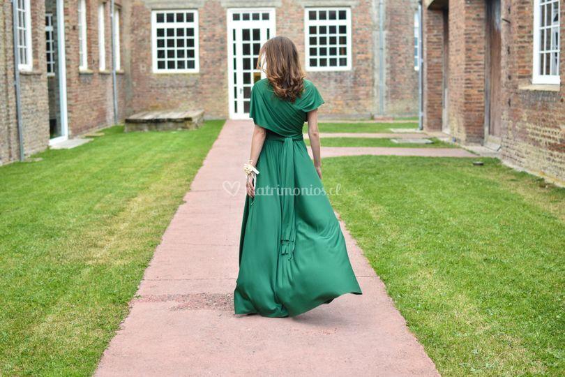 Una novia de verde