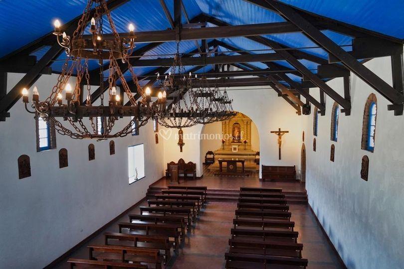 Vista del coro iglesia