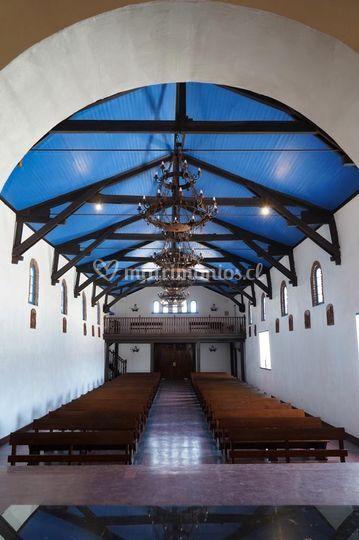 Vista del altar mayor
