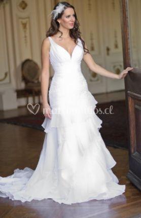 Vestido de novia - modelo ZC09-1183