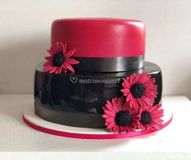 Torta black and purple