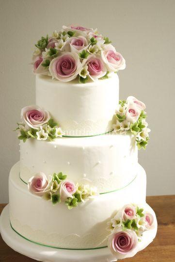 Rosas románticas bouquet