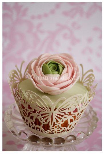 Cupcake floral