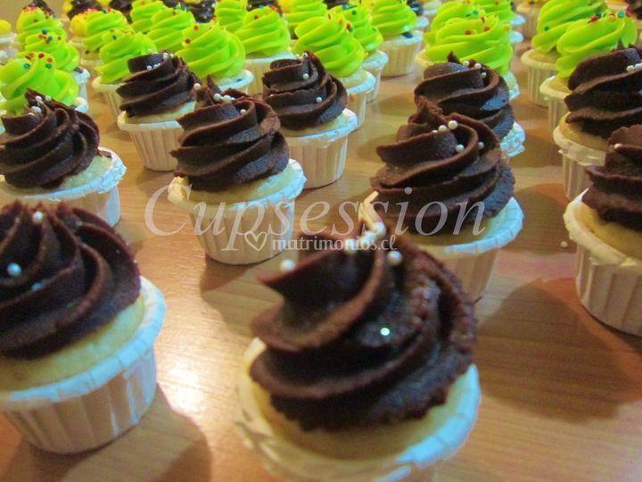 Cupcakes trufa
