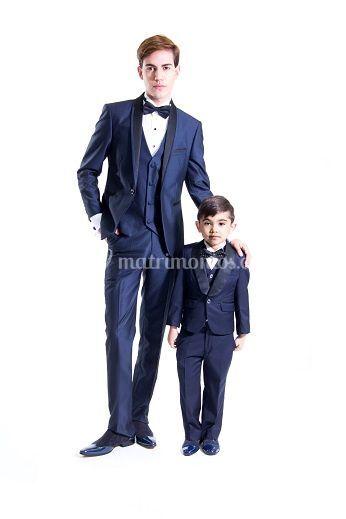 Traje padre e hijo