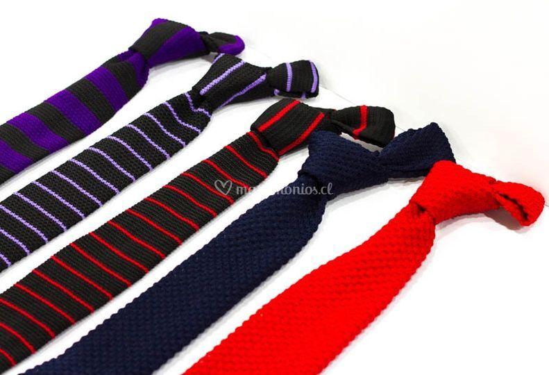 Corbatas de hilo