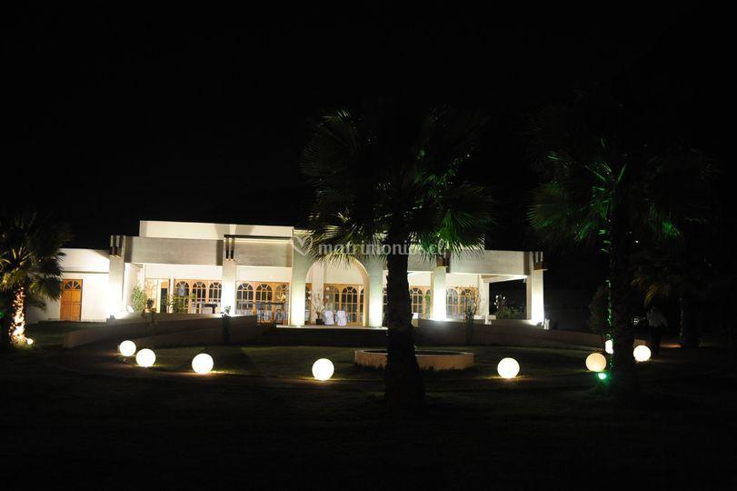 Casa de noche