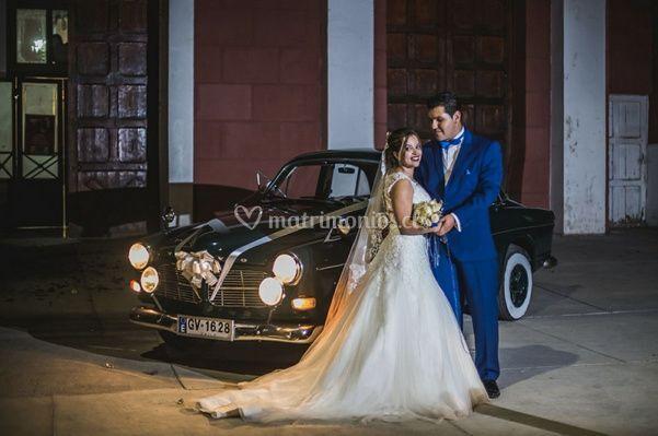 Auto para matrimonio Graneros