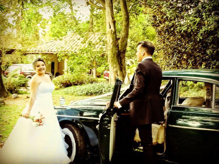 Auto para matrimonio Requinoa