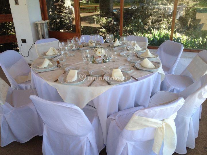 Montaje de mesa evento privado