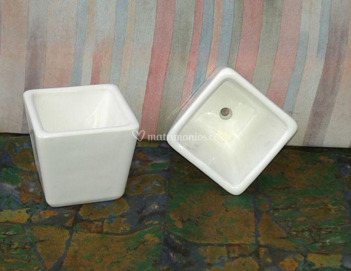 Macetero cerámica Gres-C1