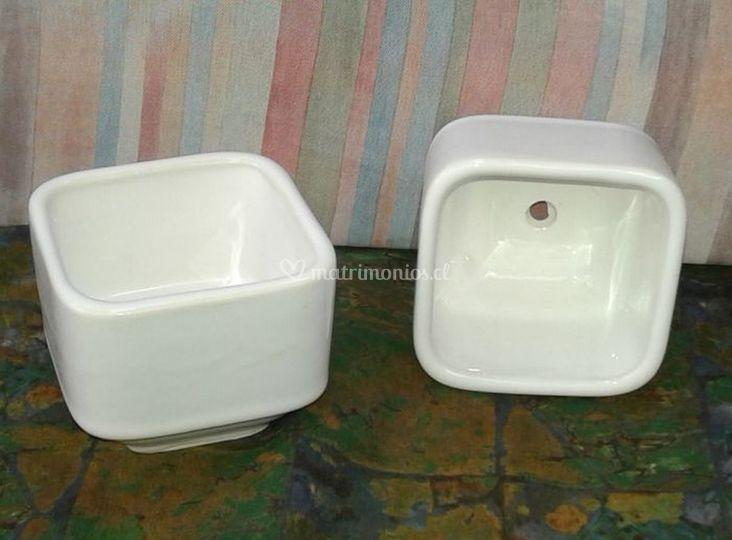 Macetero cerámica Gres-C2