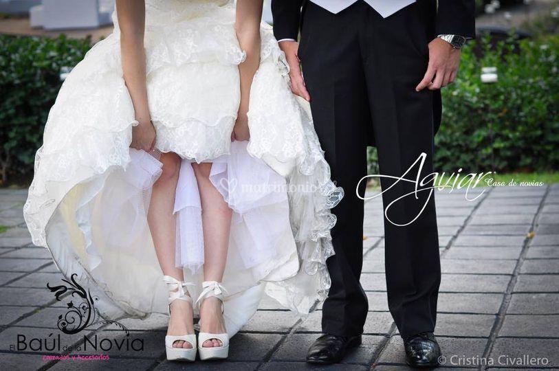 el baúl de la novia - zapatos