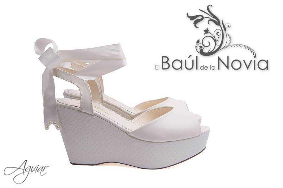 andrea - aguiar de el baúl de la novia - zapatos | foto 2