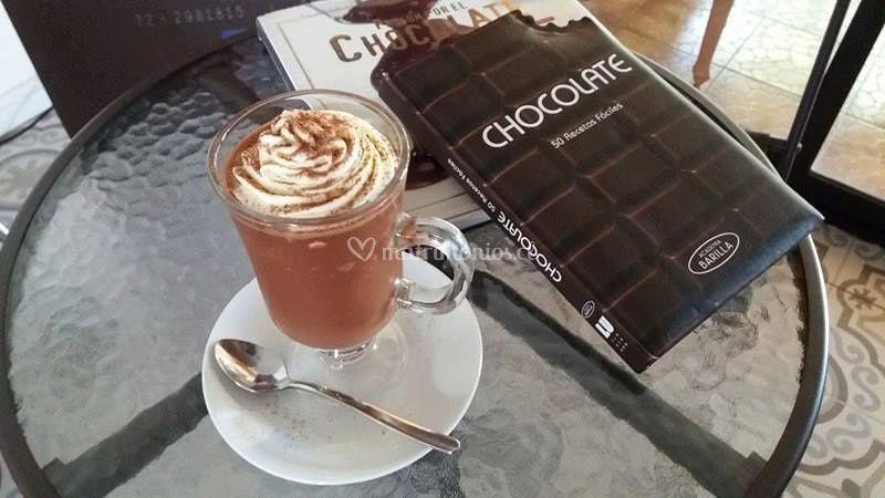 Granizado con un 54% de cacao