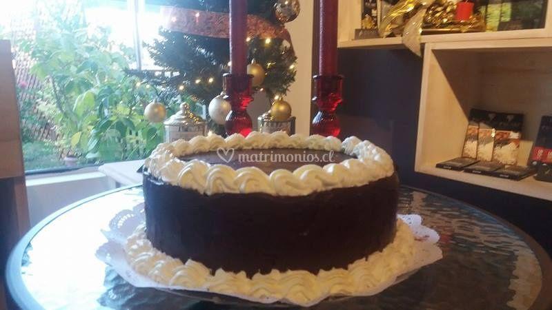 Torta de chocolate con un 54% de cacao