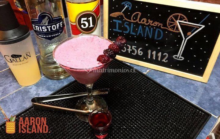 Bloodquiri coctel cream