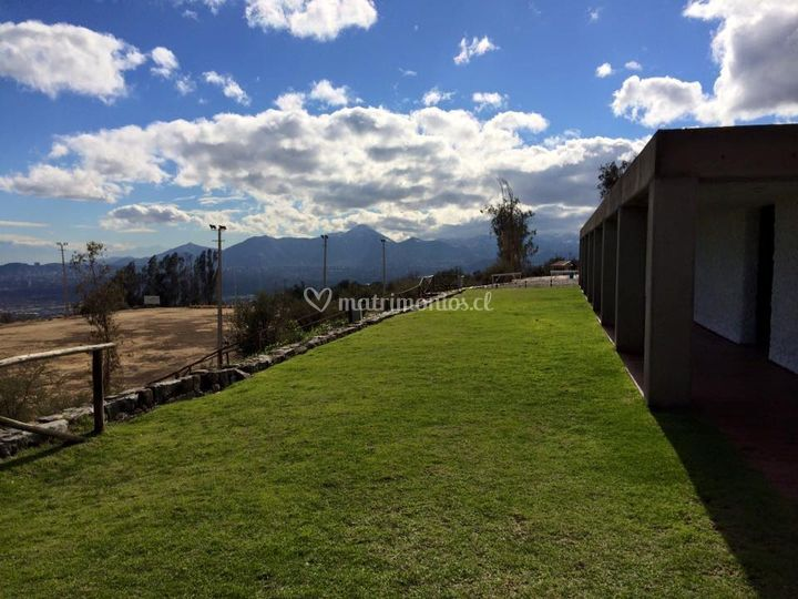 Vista Norte a Cerro Manquehue