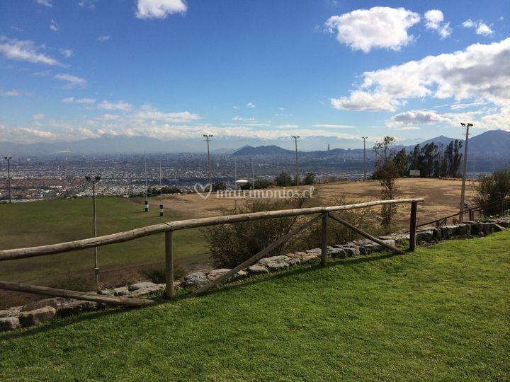 Vista a Cerro San Cristobal