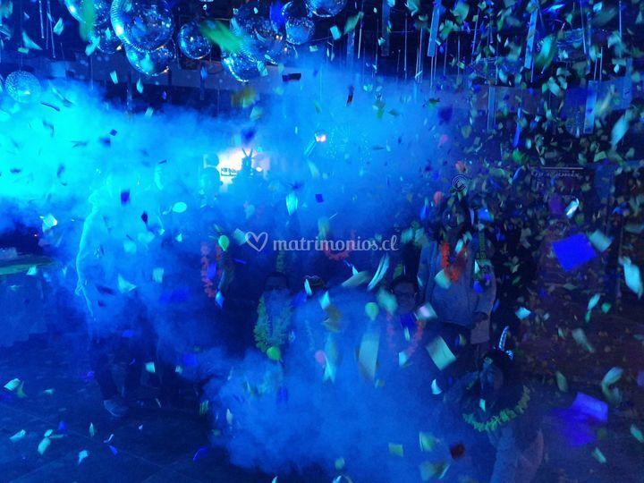 Lanza confetis
