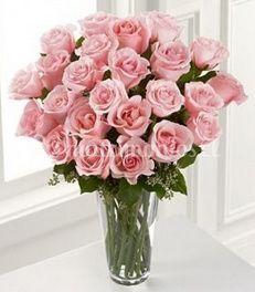Rosas rosadas 18 unidades de El Jardín de Rosas