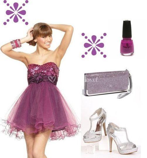 Vestidos con accesorios