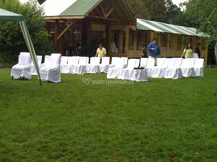 Ceremonia realizadas al aire 1