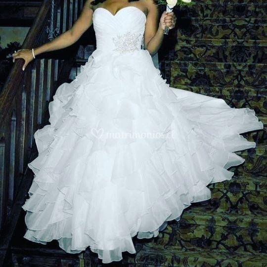 Vestido Princesa Español