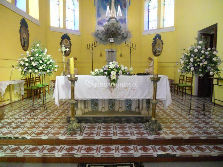 Altar decorado