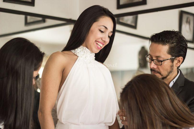 Buscando el vestido ideal